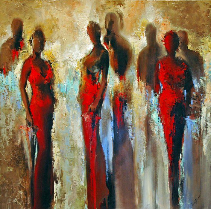 Elena Filatov | Red Dresses