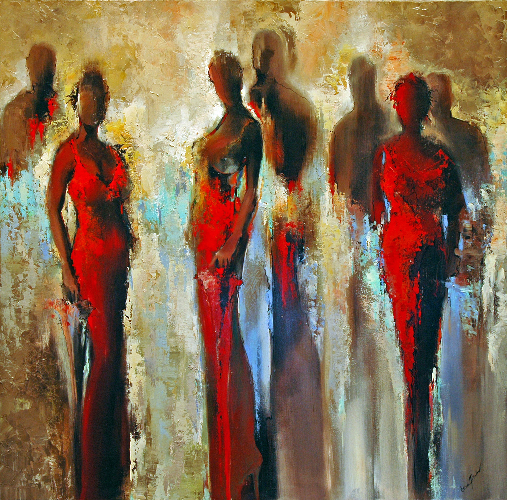 Elena Filatov | Red Dresses
