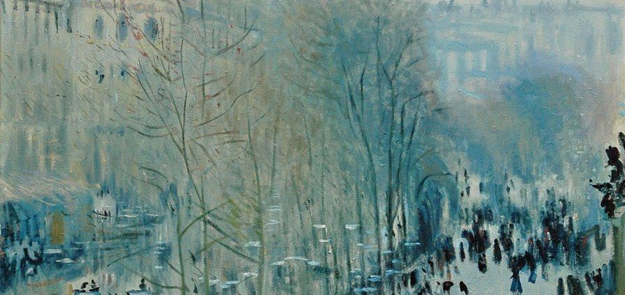 Claude Monet | Boulevard des Capucines 1873